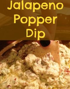 An appetizer recipe for warm jalapeno popper dip. This recipe is perfect for jalapeno popper lovers - it's easy to make and tastes just like a popper!