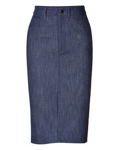 victoria beckham denim skirt - Google Search