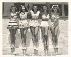 beach babes #vintage