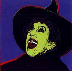 Andy Warhol - Myths; The Witch