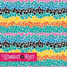 """PATTERN: """"Mosaic"""" Stardust and Rust Gallery * 'Mosaic' is another summer print with swimsuit potential! It feels like the bottom of the pool! This Illustrator vector file can be modified for color and repeat. DM us for more information. Textile Patterns, Textile Design, Retail Trends, Summer Prints, Swimsuits, Swimwear, Vector File, Repeat, Activewear"""