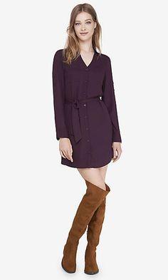 currant portofino shirt dress
