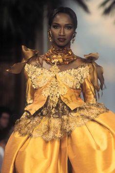 037Katoutcha-Lacroix Couture S-S 1993_photo Guy marineau