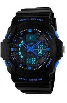 3367d256949 SKMEI 0955 Black Strap Analog-Digital Black Men s Watch-AD0955 Boys Watches