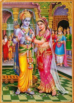 Indian Gods and Goddesses Ram Sita Image, Ram Image, Image Hd, Shri Ram Wallpaper, Krishna Wallpaper, Lord Sri Rama, Shri Ram Photo, Rama Sita, Lord Rama Images