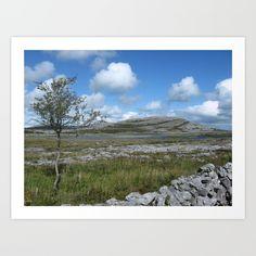 Mullaghmore IV Art Print - Burren National Park, Co.