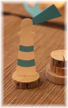 Marque places ~ Décoration de table cérémonie ~ Thème marin, beige et bleu turquoise Anniversaire, communion, baptême