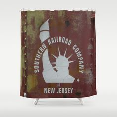SRC New Jersey Shower Curtain by Groovyal - $68.00