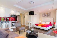 1 bedroom loft with W/D near DeWitt Clinton Park, Midtown West, New York