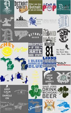 Our most popular designs now in one place!  http://www.downwithdetroit.com/Popular.html