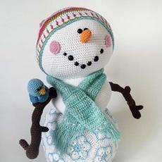Mr. Frosty the snowman