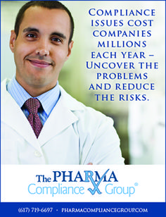 The Pharma Compliance Group - Industry Leader in Pharmacy Compliance Services (as seen in the 2017 Platinum Pages Buyer's Guide: rxplatinumpages.com).