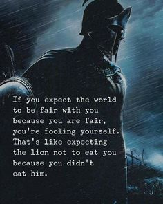 Positive Quotes : If you expect the world to be fair with you. - Hall Of Quotes Angst Quotes, Wise Quotes, Success Quotes, Motivational Quotes, Inspirational Quotes, Fair Quotes, Powerful Quotes, Strong Quotes, Cute Quotes For Life