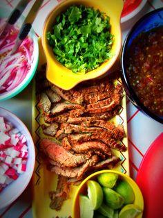 Arrachera Borracha (Marinated Grilled Flank Steak) - Hispanic Kitchen