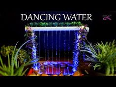 [DIY] How to make Dancing waterfall fountain at home (with PVC and LED Modulator) - YouTube
