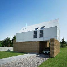 dom letni Arch House, Garage Doors, Barn Houses, Outdoor Decor, Home Decor, Image, Brick, Tiny Houses, Home