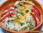 Salata de vinete cu iaurt si usturoi (1) Avocado Salad Recipes, Romanian Food, Eggplant, Quiche, Veggies, Appetizers, Low Carb, Breakfast, Sauces