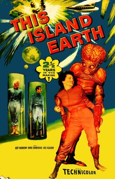 This Island Earth - 1954. #film movie #cinema #posters