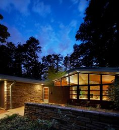 1951 - The W. Carey Parker and Evelyn Parker House, 2106 Banbury, Raleigh. F Carter Williams
