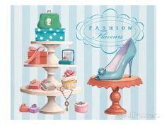 Fashion Flavours Confectionary Lámina giclée por Marco Fabiano en AllPosters.es