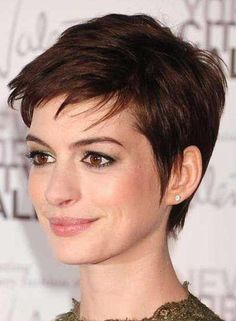 Latest Short Pixie Cuts Short pixie haircuts cause unprecedented interest in women, pixie is particularly popular in In the photo you can see th., Pixie Cuts hair women 28 Latest Short Pixie Cuts You'll Love for Summer 2020 - Short Pixie Cuts Stylish Short Hair, Short Hairstyles For Thick Hair, Short Pixie Haircuts, Hairstyles Haircuts, Short Hair Cuts, Short Hair Styles, Haircut Short, Hairstyles Pictures, Haircut Style