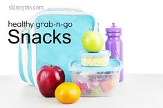 15 Healthy Grab-N-Go Snacks - Healthy snacking is a crucial part of any healthy eating plan. There are plenty of nutritious grab and go snacks that will keep you feeling full and looking great! #healthychoices #snackideas
