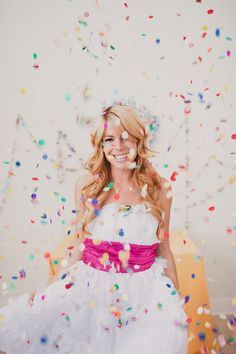 DIY::The Perfect Confetti Garland | a subtle revelry