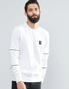 Religion Sweatshirt with Zip Detail £55.00 @ Asos