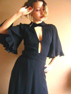 Ossie Clark dress.