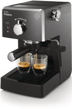 ¡Chollo! Philips HD8423/11 – Cafetera espresso manual Saeco Poemia para café molido y monodosis por sólo 69 euros.