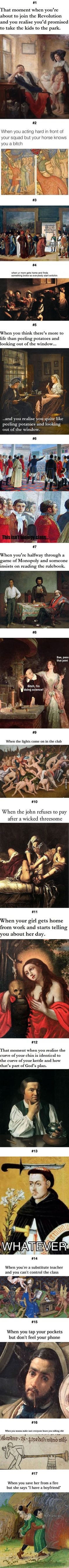Classic paintings make much more sense with subtitles