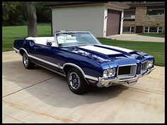 Beauty! F203 1972 Oldsmobile 442 Convertible 455 CI, Automatic