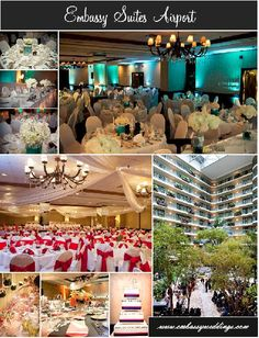 Embassy Suites Minneapolis Airport, Bloomington MN  www.embassyweddings.com