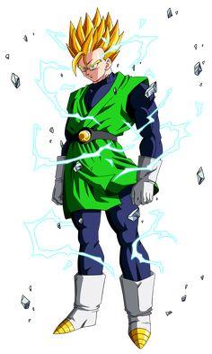 Gohan Super Saiyajin 2 Saga de Boo