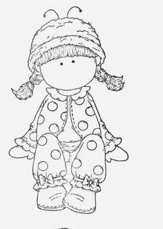 .niña con pijamas