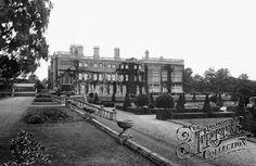 Castle Ashby, Terrace Garden 1922