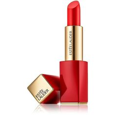 Estee Lauder Pure Color Envy Sculpting Lipstick, Le Rouge Look ($30) ❤ liked on Polyvore featuring beauty products, makeup, lip makeup, lipstick, beauty, lips, carnal, red lip makeup, red lipstick and estee lauder lipstick