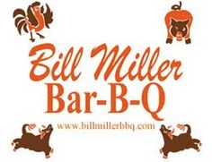 Bill Miller's Restaurant -  fast food BBQ in San Antonio - I feel my arteries hardening right now - they make pretty good sweet texas tea