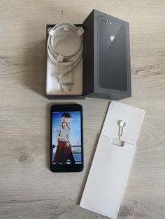 iPhone 8 plus da 64 gb colore space grey tasto home sostituito e non va impronta completo di scatola, caricabatterie, 2 vetri temperati e 1 cover Iphone 8 Plus