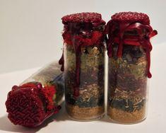 MORRIGAN GODDESS Talisman Amulet Spell Bottle Charm Devotional Altar Magick Spells, Candle Spells, Witchcraft, Wicca, Prosperity Spell, Bottle Charms, Triple Goddess, Leaf Flowers, Garnet Gemstone