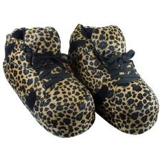 462440751434 Comfy Feet Snooki s Leopard Print Slippers Snooki Slippers
