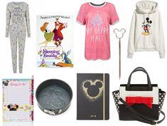 BATB Pyjamas    Mickey Hoodie   Things To Do Pad   My Happy Place Tee   Minnie Mouse Satchel Bag   Sleeping Beauty Canvas    ...