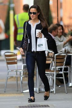 Pippa out and about