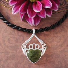 Claddagh Necklace at Creative Irish Gifts.