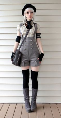 Romper - Steampunk Couture