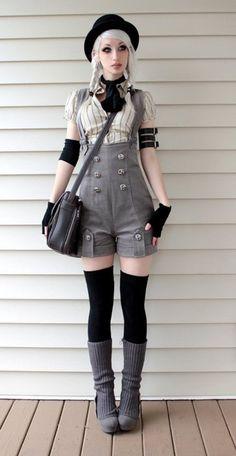Romper - Steampunk Couture
