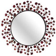 Red Dazzle Mirror - Pier1