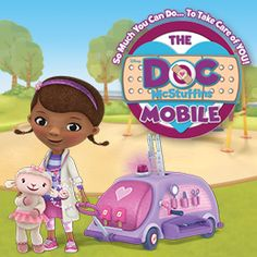 Doc McStuffins Mobile Tour   #docmobile #docmcstuffins #animals
