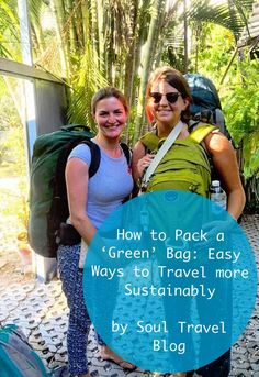 What and how you pack does make a difference! Read more at Soul Travel Blog.