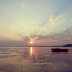 Sandbanks sunset, incredible!